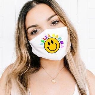 Sorority Smiley Face Mask