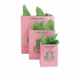 Alpha Kappa Alpha Paper Gift Bag Set
