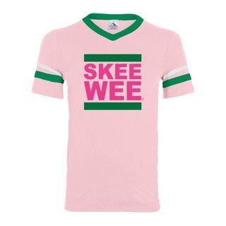 SKEE WEE Pink & Green Jersey