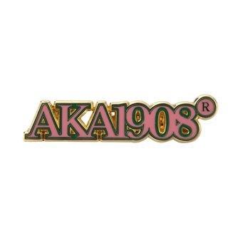 Alpha Kappa Alpha Heritage Lapel Pin