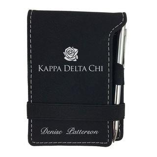 Kappa Delta Chi Mascot Notepad With Pen