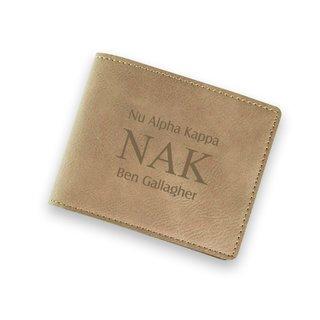 Nu Alpha Kappa Wallet