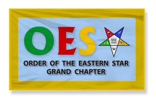 OES 3 x 5 Flag