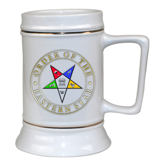 OES Ceramic Collectors Stein