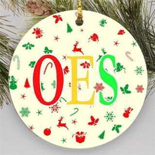 OES Holiday Cheer Ornaments
