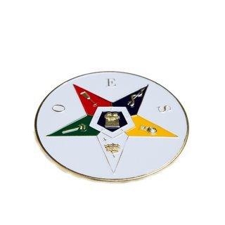 OES - Order of Eastern Star Die Car Badges