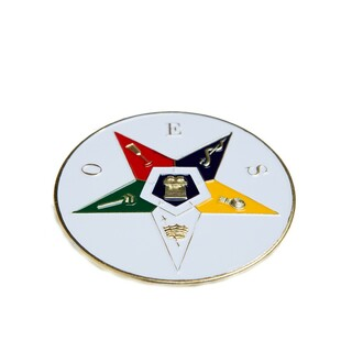 OES - Order of Eastern Star Die Car Badges