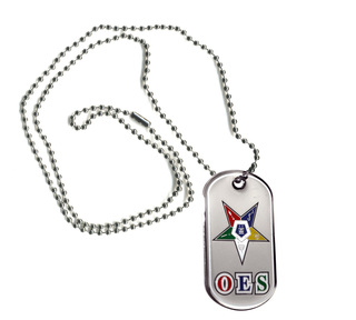 OES Order of Eastern Star Reversible Dog Tags