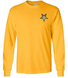 DISCOUNT-OES Patch Long Sleeve T-shirt