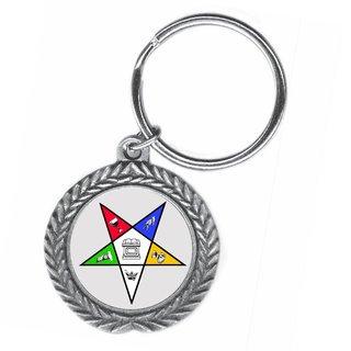 OES Pewter Key Ring