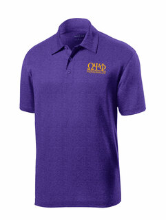 Omega Psi Phi- $25 World Famous Greek Contender Polo