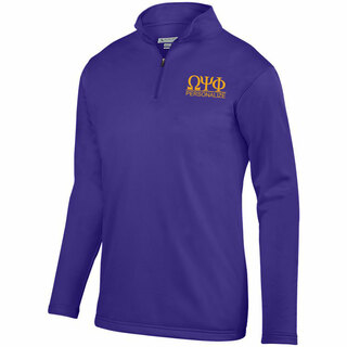 Omega Psi Phi- $40 World Famous Wicking Fleece Pullover