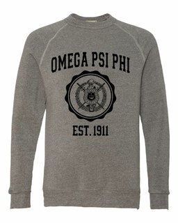 Omega Psi Phi Alternative - Eco-Fleece� Champ Crewneck Sweatshirt