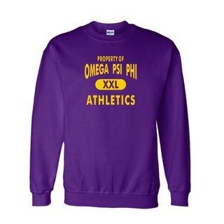 Omega Psi Phi Athletics  Crewneck Sweatshirts
