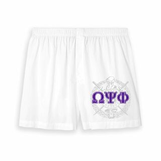 Omega Psi Phi Boxer Shorts