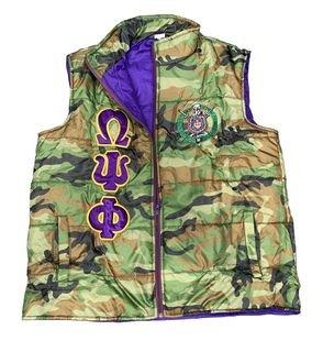 Omega Psi Phi Camo Vest