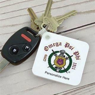 Omega Psi Phi Color Keychains