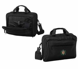 DISCOUNT-Omega Psi Phi Crest - Shield Briefcase Attache