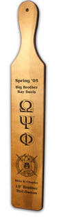 Omega Psi Phi Deluxe Greek Paddles