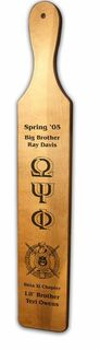 Omega Psi Phi Deluxe Greek Paddles