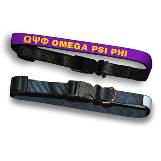 Omega Psi Phi Dog Collar