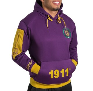 Omega Psi Phi Elite Hooded Pullover