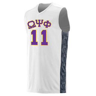 Omega Psi Phi Fast Break Game Basketball Jersey