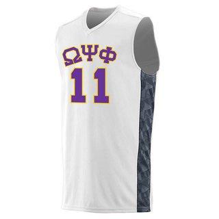 Omega Psi Phi Fast Break Game Basketball Jersey