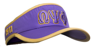 Omega Psi Phi Feather Light Visor