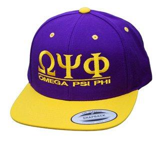 Omega Psi Phi Flatbill Snapback Hats Original