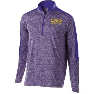 Omega Psi Phi Fraternity Electrify 1/2 Zip Pullover