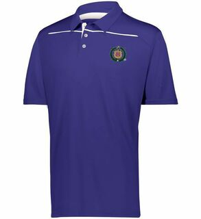 Omega Psi Phi Greek Crest Emblem Defer Polo