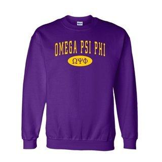 Omega Psi Phi Group Crewneck Sweatshirts