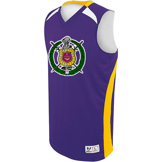 Omega Psi Phi High Five Campus Basketball Jersey
