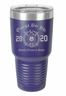 Omega Psi Phi Insulated Tumbler