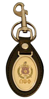 Omega Psi Phi Key Ring