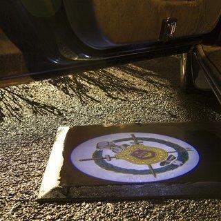 Omega Psi Phi LED Car Door Light Set