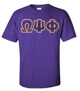 Omega Psi Phi Lettered T-Shirt