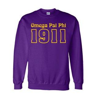 Omega Psi Phi Logo Crewneck Sweatshirt