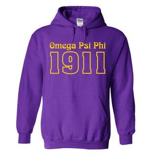 Omega Psi Phi Logo Hooded Sweatshirt
