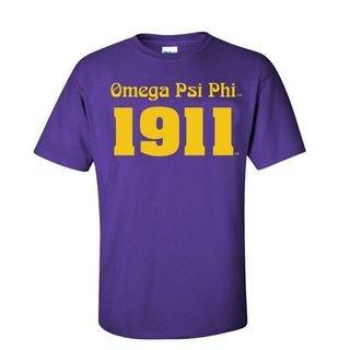 Omega Psi Phi Logo Short Sleeve Tee