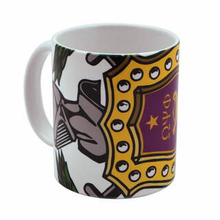 Omega Psi Phi Mega Crest - Shield Coffee Mug