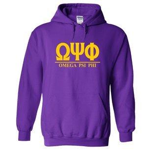 Omega Psi Phi Message  Hooded Sweatshirts
