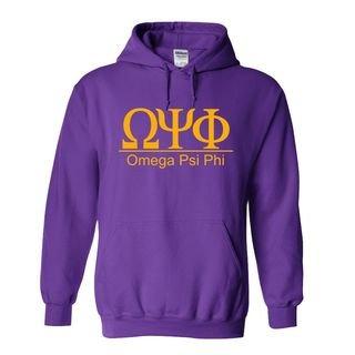 Omega Psi Phi Bar Hooded Sweatshirts