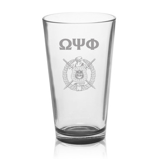 Omega Psi Phi Mixing Glass