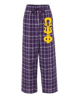 Omega Psi Phi Pajamas Flannel Pant