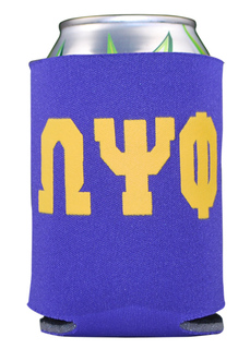 Omega Psi Phi Pocket Can Cooler