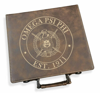 Omega Psi Phi Poker Set