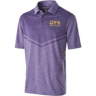 Omega Psi Phi Seismic Polo Shirt