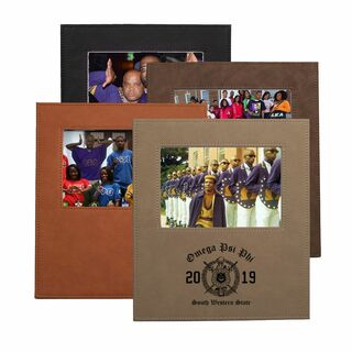 Omega Psi Phi Saddle Photo Frame